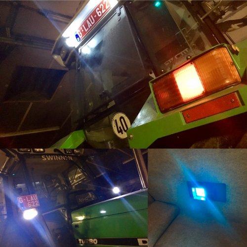 Paar LED lichtjes erin gezet, achterlampen, stadslichten, aanwijzer, binnenverlichting, zwaailampen en nummerplaatverlichting. De koplampen zijn nog onderweg 😁