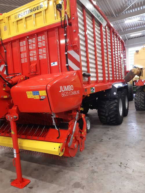 Pottinger Jumbo Combiline van deutz110