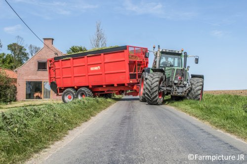Record Silagewagen van Jan Ramon