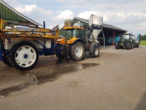 Foto van een Renault Ares 620 RZ. Geplaatst door Niehofgijs op 16-05-2018 om 11:25:21, op TractorFan.nl - de nummer 1 tractor foto website.