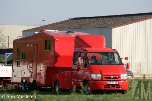 Renault Master van Alex Miedema