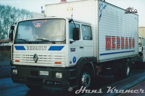 Renault Manager van Hans Kramer