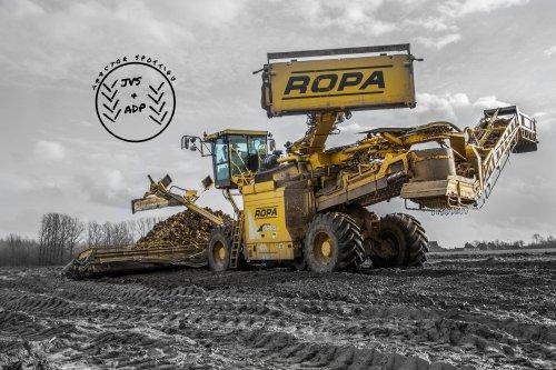 Foto van een Ropa Euromaus IV, bezig met poseren.. Geplaatst door JVS en ADP op 22-01-2014 om 12:41:11, met 2 reacties.