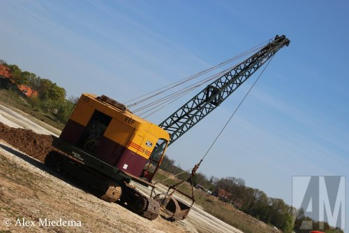 Foto van een Ruston Bucyrus 19RB  Foto genomen bij Higro Bant 2016, meer foto's van dat evenement vind je op http://www.truckfan.nl/agenda/517/higro-2016/