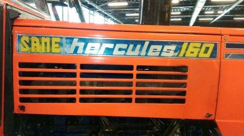 Same Hercules 160 van Minitaurus