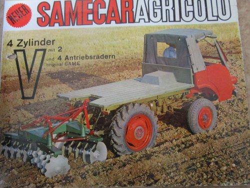 Een afbeelding uit een Samecar folder uit de 60er jaren.. Geplaatst door olro 61 op 09-11-2019 om 11:26:18, op TractorFan.nl - de nummer 1 tractor foto website.