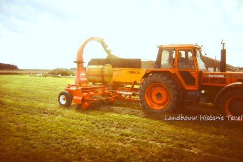 Same Hercules 160. Vermoedelijk de Same Hercules die ik later gekocht heeft. Hier op een Demo van mechanisatie bedrijf Stolk op Texel.