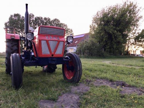 Foto van een Same Minitauro 50. Geplaatst door Dick van Driel op 19-05-2020 om 15:39:57, op TractorFan.nl - de nummer 1 tractor foto website.