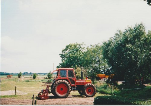Same Tiger Six 105, op de oude locatie in Moordrecht. Hier word nu een groet woonwijk van Gouda gebouwd.