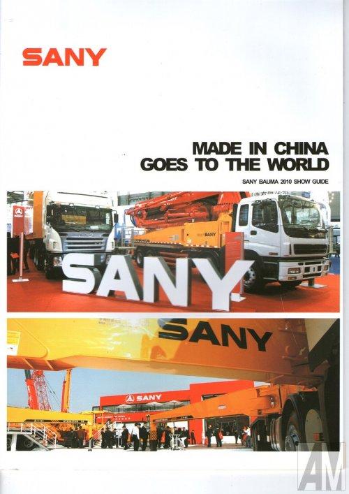 Sany folder van Alex Miedema