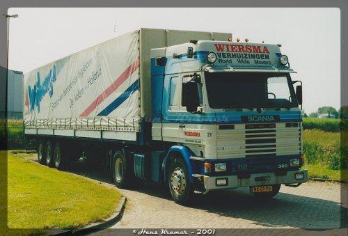 Scania 112 van Hans Kramer