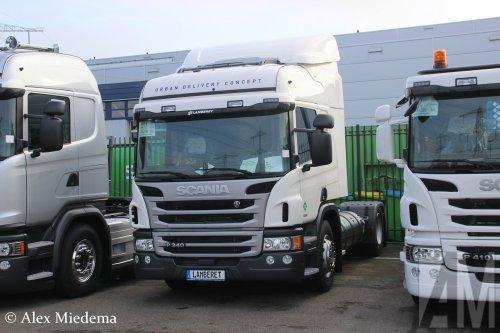 Scania P340 van Alex Miedema