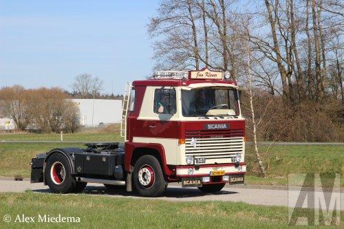 Scania 141 van Alex Miedema