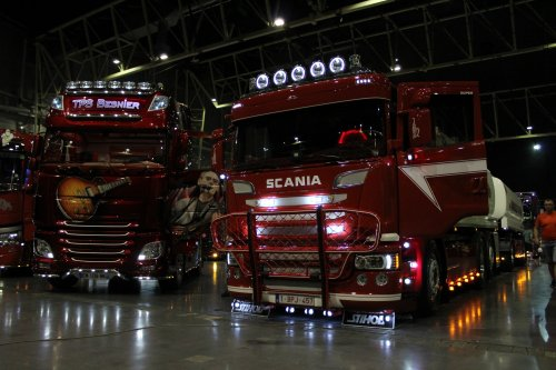 Foto van een Scania Vrachtwagen, opgebouwd voor tanktransport.. Geplaatst door michael-hoeven op 21-06-2017 om 14:33:47, op TractorFan.nl - de nummer 1 tractor foto website.