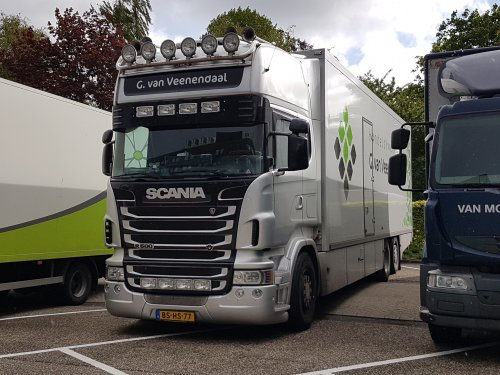 Scania R500 van NSTF Truck Fotografie