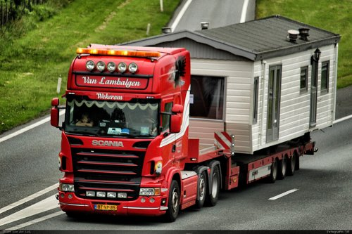 Scania R500 van Bram van der Leij