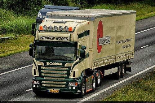 Scania R580 van Bram van der Leij