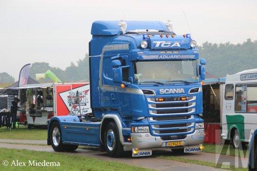 Foto van een Scania R450, opgebouwd zonder opbouw.. Geplaatst door Alex Miedema op 18-09-2016 om 19:43:04, op TractorFan.nl - de nummer 1 tractor foto website.