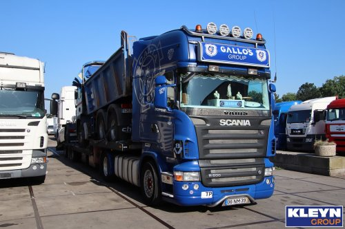 Scania R500 van Katy Kleyn