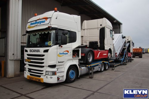 Scania R450 van Katy Kleyn
