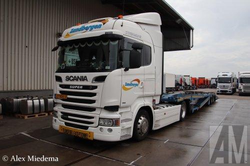 Scania R490 van Alex Miedema