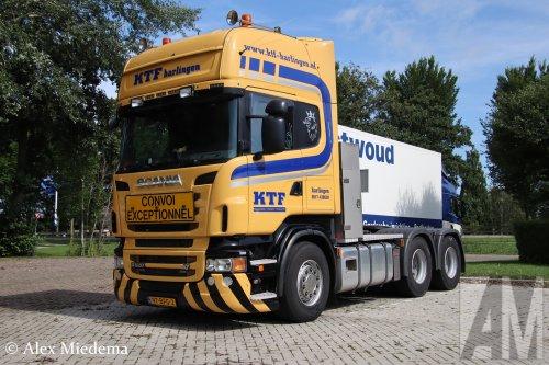 Scania R620 van Alex Miedema