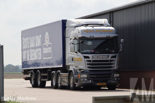 Scania R410 van Alex Miedema