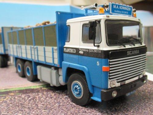 Foto van een Scania 140    Bietenwagen       1:43. Geplaatst door Frans NH op 02-01-2020 om 20:14:29, op TractorFan.nl - de nummer 1 tractor foto website.