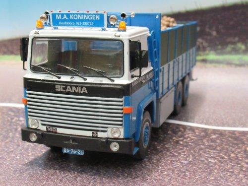 Foto van een Scania 140     bietenwagen  1:43. Geplaatst door Frans NH op 02-01-2020 om 20:30:40, op TractorFan.nl - de nummer 1 tractor foto website.