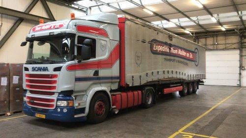 Scania R410 van Fast Eddy