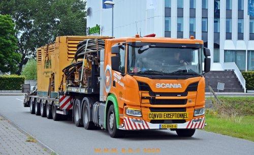 Foto van een Scania Vrachtwagen.. Geplaatst door bernard-dijkhuizen op 05-07-2020 om 10:07:10, op TractorFan.nl - de nummer 1 tractor foto website.
