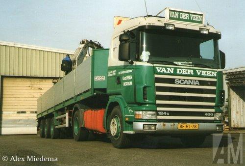 Scania 124 van Alex Miedema