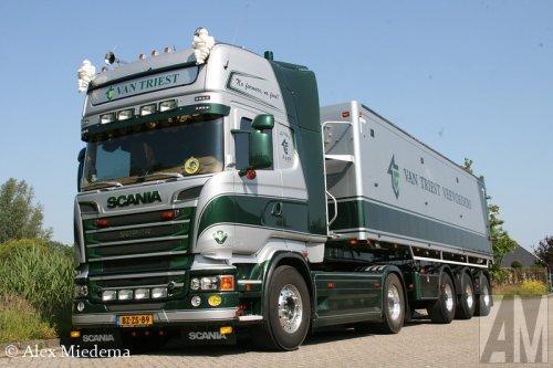 Foto van een Scania R620, opgebouwd als dumper / kipper.. Geplaatst door Alex Miedema op 03-06-2014 om 11:21:40, op TractorFan.nl - de nummer 1 tractor foto website.