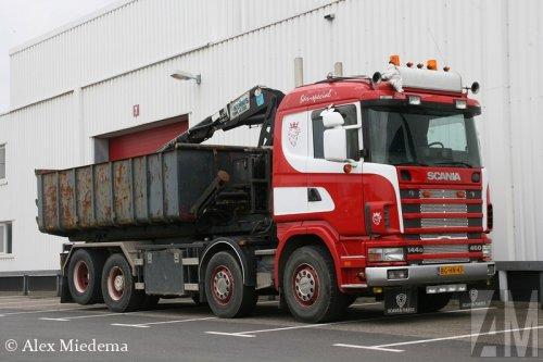 Scania 144 van Alex Miedema