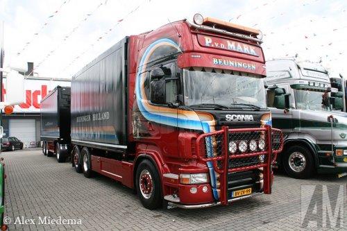 Foto van een Scania R500, opgebouwd als dumper / kipper.. Geplaatst door Alex Miedema op 07-07-2014 om 17:29:19, op TractorFan.nl - de nummer 1 tractor foto website.
