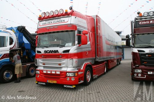 Foto van een Scania R500, opgebouwd voor dierenvervoer.. Geplaatst door Alex Miedema op 26-07-2014 om 22:53:57, op TractorFan.nl - de nummer 1 tractor foto website.