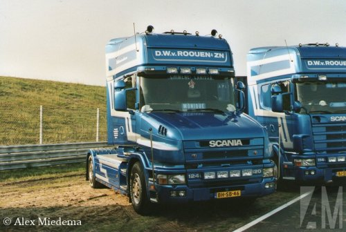 Scania T124 van Alex Miedema