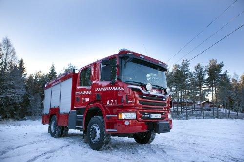 Scania P410 van Alex Miedema