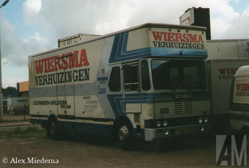 Scania 111 van Alex Miedema