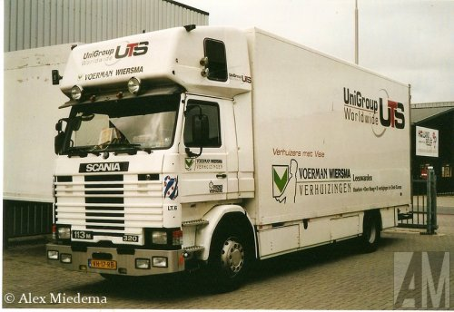 Scania 113 van Alex Miedema