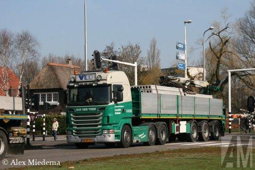 Foto van een Scania R500, opgebouwd als open laadbak.. Geplaatst door Alex Miedema op 13-03-2014 om 17:26:00, met 4 reacties.