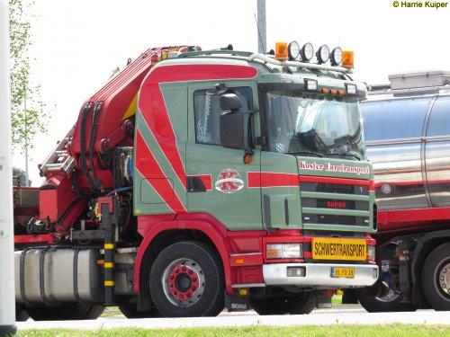 Foto van een Scania onbekend/overig, opgebouwd als open laadbak.. Geplaatst door oldtimergek op 01-06-2015 om 11:43:41, met 2 reacties.