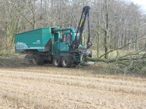 Silvatec Harvester van Diesel-in-Fendt