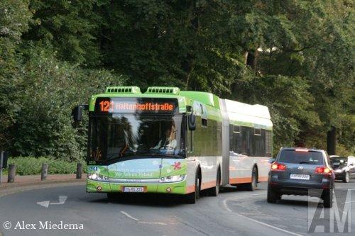 Foto van een Solaris onbekend/overig, opgebouwd voor personenvervoer.. Geplaatst door Alex Miedema op 03-10-2014 om 23:42:11, met 2 reacties.