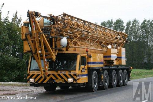 Foto van een Spierings SK598-AT5, opgebouwd als hijskraan.. Geplaatst door Alex Miedema op 08-10-2014 om 20:05:17, op TractorFan.nl - de nummer 1 tractor foto website.
