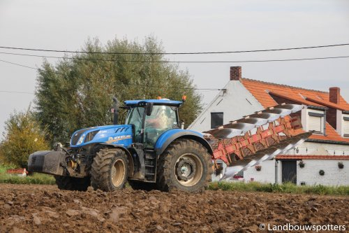 Steeno ploeg van tractorfreek