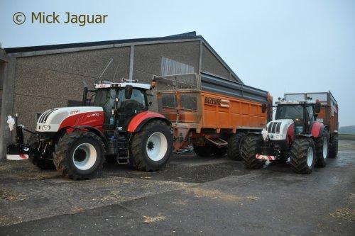Steyr CVT 6170 van Mick Jaguar