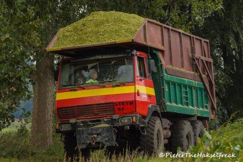 Steyr Mais Vrachtwagen van Hakselfreaky