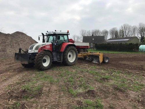 Steyr 6195cvt. Geplaatst door tonhulten op 26-01-2019 om 20:28:33, op TractorFan.nl - de nummer 1 tractor foto website.