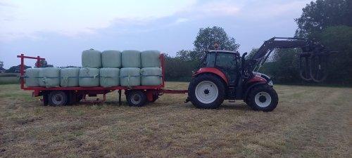 Steyr Multi 4100 van Saeghershof